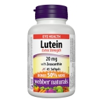 Webber Lutein Extra Strength 20mg with Zeaxanthin (30+15 softgels)