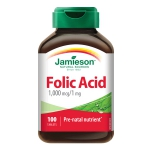 Jamieson Folic Acid 1mg (100 tablets)