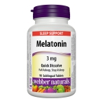 Webber Melatonin 3mg Quick Dissolve (90 tablets)