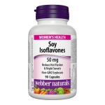 Webber Soy Isoflavone Complex 50mg (90 capsules)